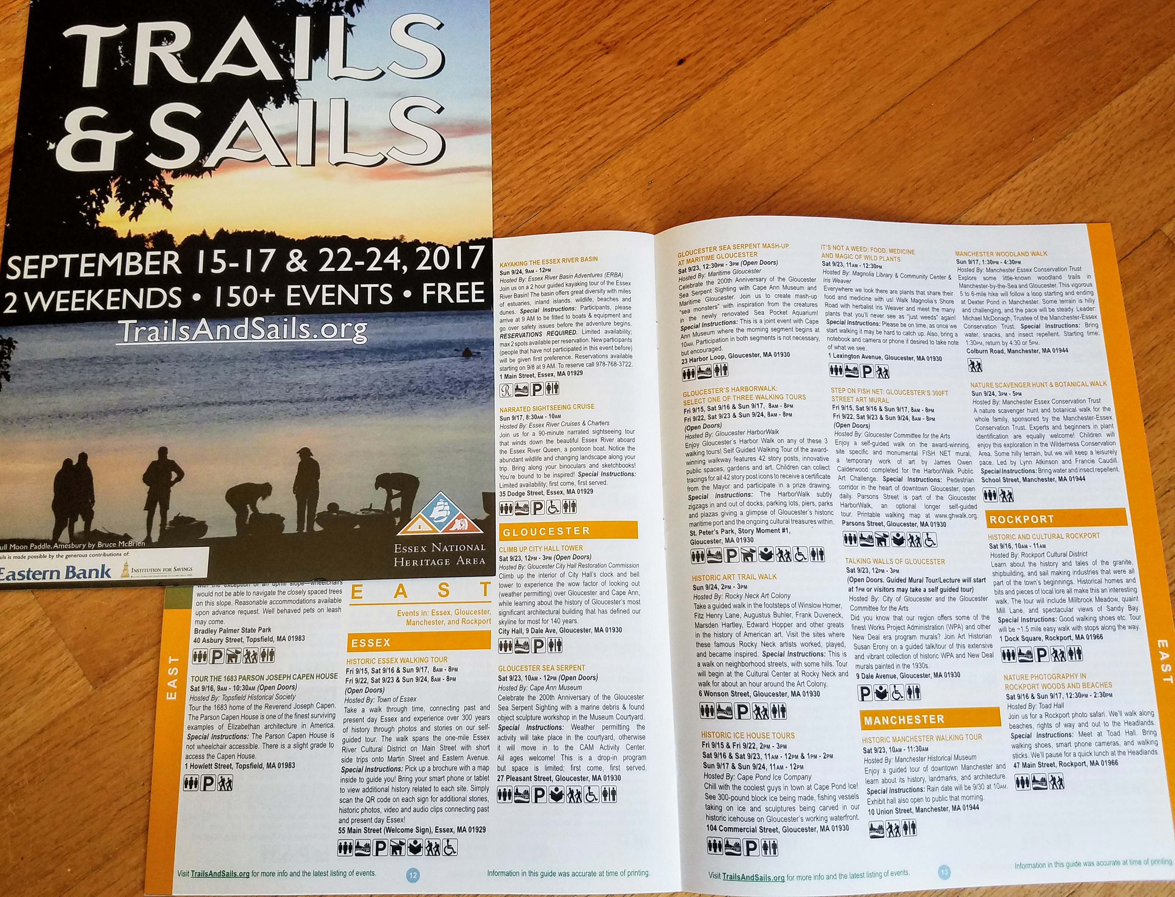 2017 Essex National Heritage Trails and Sails #TrailsAndSails
