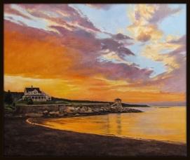 Front Beach, Oil, 20 x 24 - by Keith Gantos