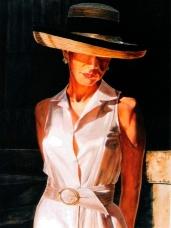 Golden Light, Oil, 24 x 18 - by Keith Gantos