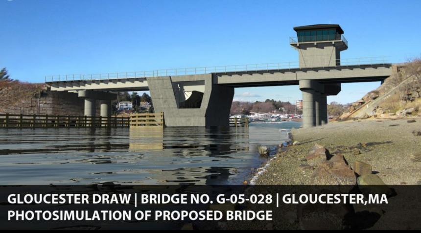 MBTA Gloucester bridge sim