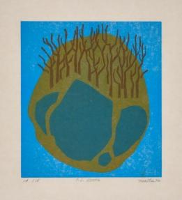 9x10, Woodcut, 1972