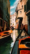Venice, Oil, 24 x 16 - by Keith Gantos
