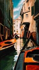 Venice, Oil, 24 x 16 - by Keith Gantos
