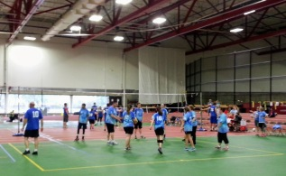 volleyball Special Olympics Harvard field House Cape Cod Champs