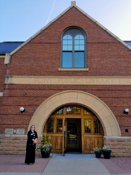 Catherine Essex Nationl Heritage Flint Library