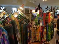 Ten Pound Studios textiles, scarves range from $40-$100+