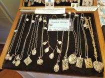 Barbara Erkkila granite jewelry