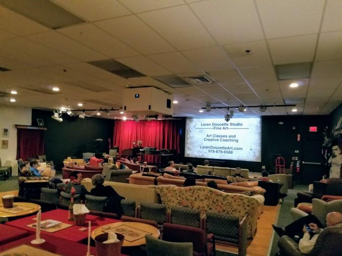 local advertisers support Cape Ann Cinema like fine artist, Loren Doucette