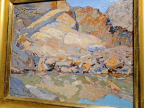 Aldro Hibbard -detail-Rockport quarry 1920 ROCKBOUND installation Cape Ann Museum ©c ryan 20170602_110227