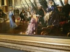 CHARLES ROBERT DUDLEY 1868 oil National Maritime Museum - Ocean Liners Installation Peabody Essex Museum © C Ryan 20170908_120638_001
