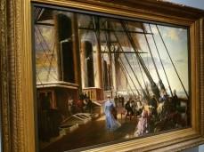 CHARLES ROBERT DUDLEY 1868 oil on canvas - Ocean Liners Installation Peabody Essex Museum © C Ryan 20170908_120618
