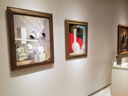 CHARLES SHEELER and CHARLES DEMUTH - Ocean Liners Installation Peabody Essex Museum © C Ryan 20170908_121123