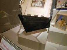clutch in the shape of Normandie ca1935 -Ocean Liners Installation Peabody Essex Museum © C Ryan 20170908_120320
