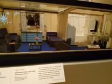 diorama 1st class suite 1960 - Ocean Liners Installation Peabody Essex Museum © C Ryan 20170908_120156