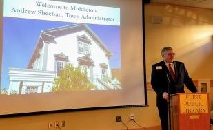 Andrew Sheehan, Middleton Town Administrator