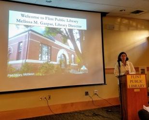 Melissa Gaspar, Library Director Flint Library