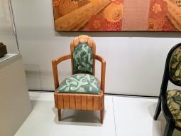 ile de France 1927 PIERRE PATOUT armchair dinnig room - Ocean Liners Installation Peabody Essex Museum © C Ryan 20170908_115754