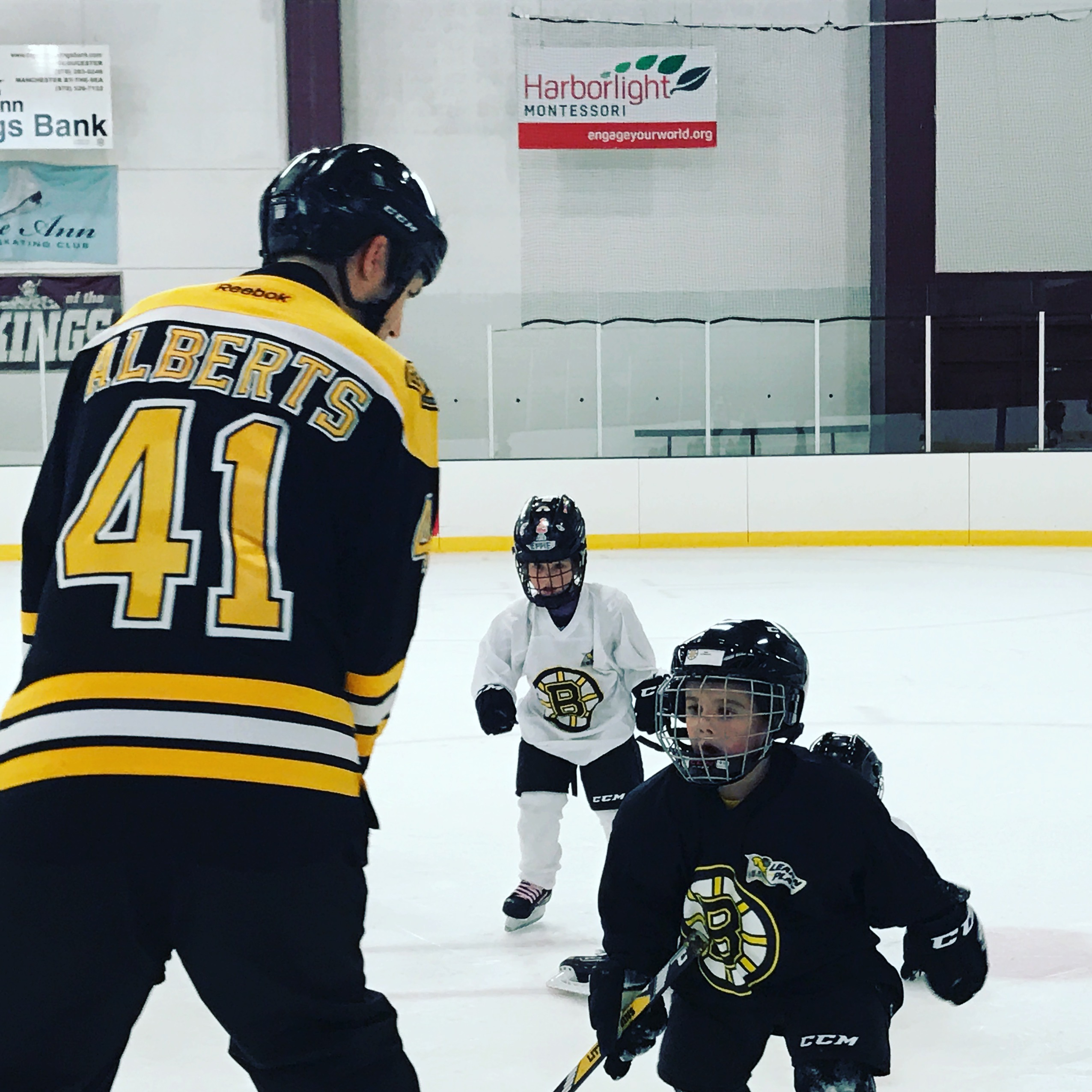 The Bruins Academy and Former Bruin Andrew Alberts at Talbot Rink |  GoodMorningGloucester