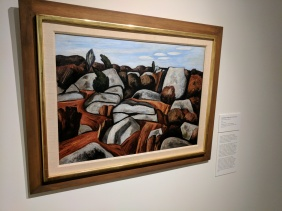 Marsden Hartley Rock Doxology Dogtown 1931 ROCKBOUND installation Cape Ann Museum ©c ryan 20170602_120550