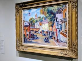 Max Kuehne Main Street Gloucester ca1930 ROCKBOUND installation Cape Ann Museum ©c ryan 20170602_105934
