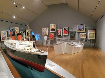Ocean Liners Installation Peabody Essex Museum © C Ryan 20170908_113820