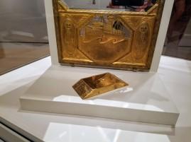 Osterreichischer, ca1910 JOSEF HOFFMAN COIN TRAY - Ocean Liners Installation Peabody Essex Museum © C Ryan 20170908_114201