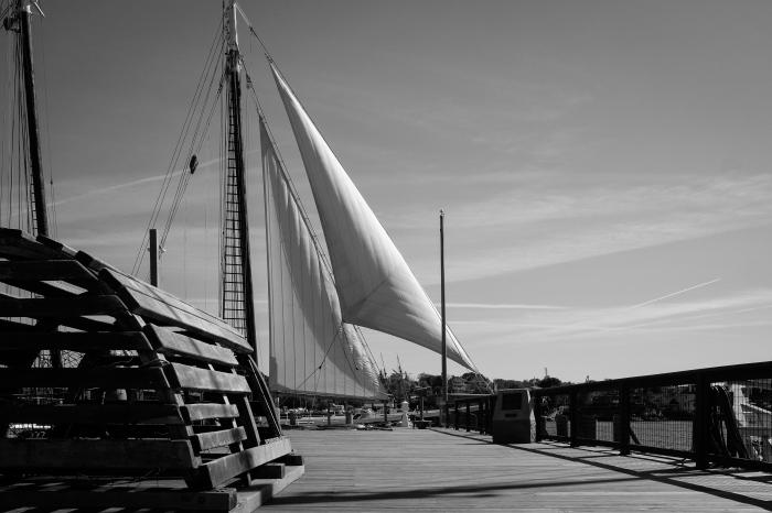Schooner Adventure at Harriet Webster Pier