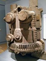 SCOTTISH MARITIME MUSEUM turbine pattern Queen Elizabeth 2,Ocean Liners Installation Peabody Essex Museum © C Ryan 20170908_114254