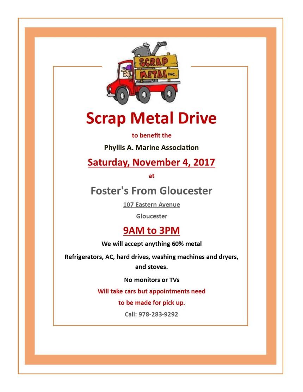 scrap steel drive 2017