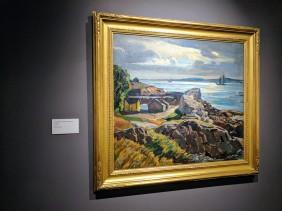 W Lester Stevens ROCKBOUND installation Cape Ann Museum ©c ryan 20170602_110020