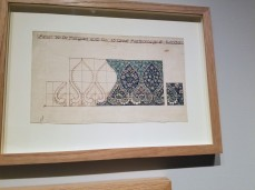 WILLIAM DE MORGAN tile panel design for saloon Sutlet 1882 - Ocean Liners Installation Peabody Essex Museum © C Ryan 20170908_115254
