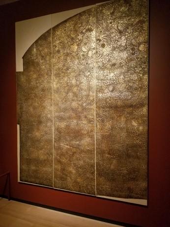William Scott Morton, tynecastle tapestry Victoria and Albert Museum - Ocean Liners Installation Peabody Essex Museum © C Ryan 20170908_115032