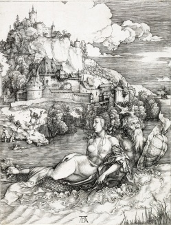 Albrecht Durer The Sea Monster before 1500 sold for 50000 at Swann Auction