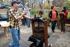 Apple Cider Pressing Party Duckworths Murdock -17 copyright Kim Smith