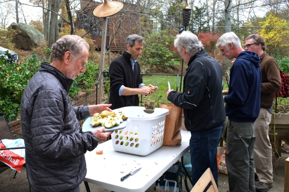 Apple Cider Pressing Party Duckworths Murdock -2 copyright Kim Smith