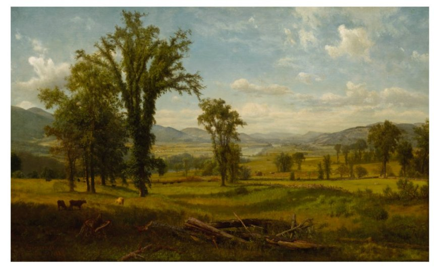 Berkshire Museum Albert Bierstadt Connecticut River Valley Claremont NH Sothebys Lot 15