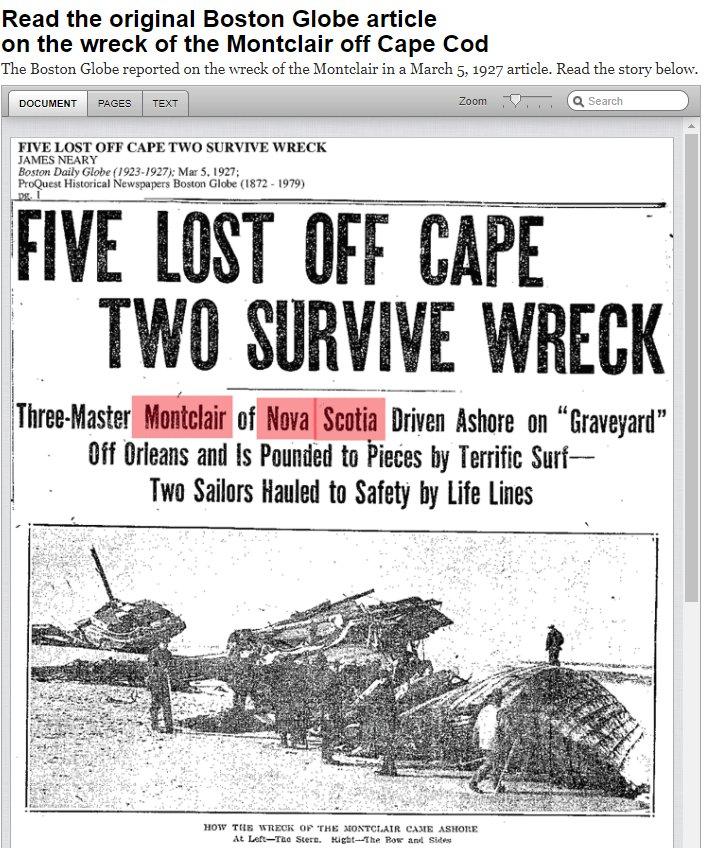 Boston Globe archives