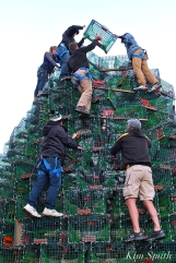 Building #GloucesterMA Lobster Trap Tree -9 copyright Kim Smith