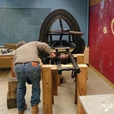 ©Brett Dunton newly installed famous Acorn press O'Maley Innovation Middle School, Gloucester DSC_2209