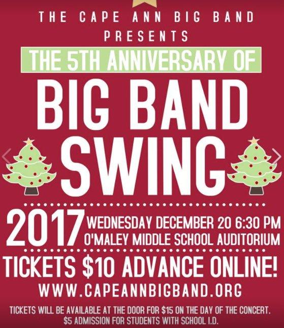 Cape Ann Big Band Swing