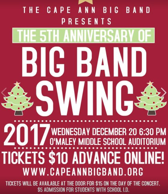 Cape Ann Big Band Swing