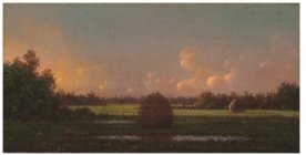 Christies Martin Johnson Heade 1819 to 1904 Haystacks oc 1878-1892 est 120 to 180000