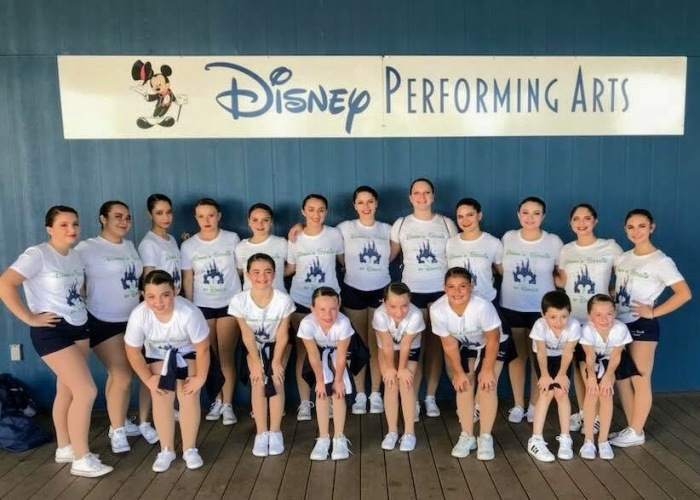 Gloucester Dawn Studio of Dance student dancers perform at Walt Disney World 2017 449