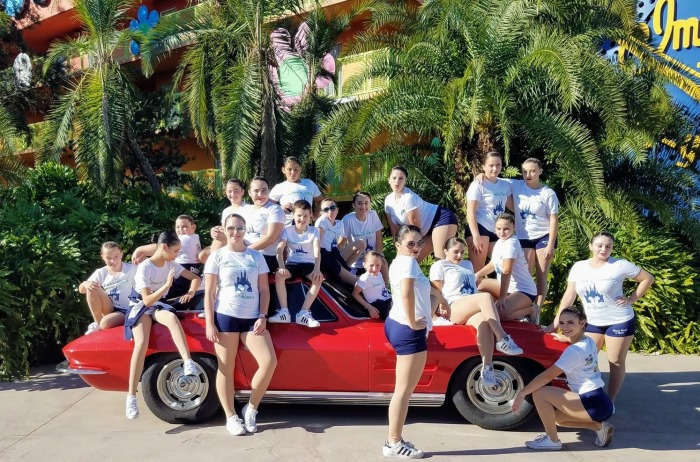 Gloucester Dawn Studio of Dance student dancers perform at Walt Disney World 2017 451