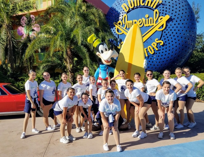 Gloucester Dawn Studio of Dance student dancers perform at Walt Disney World 2017 453