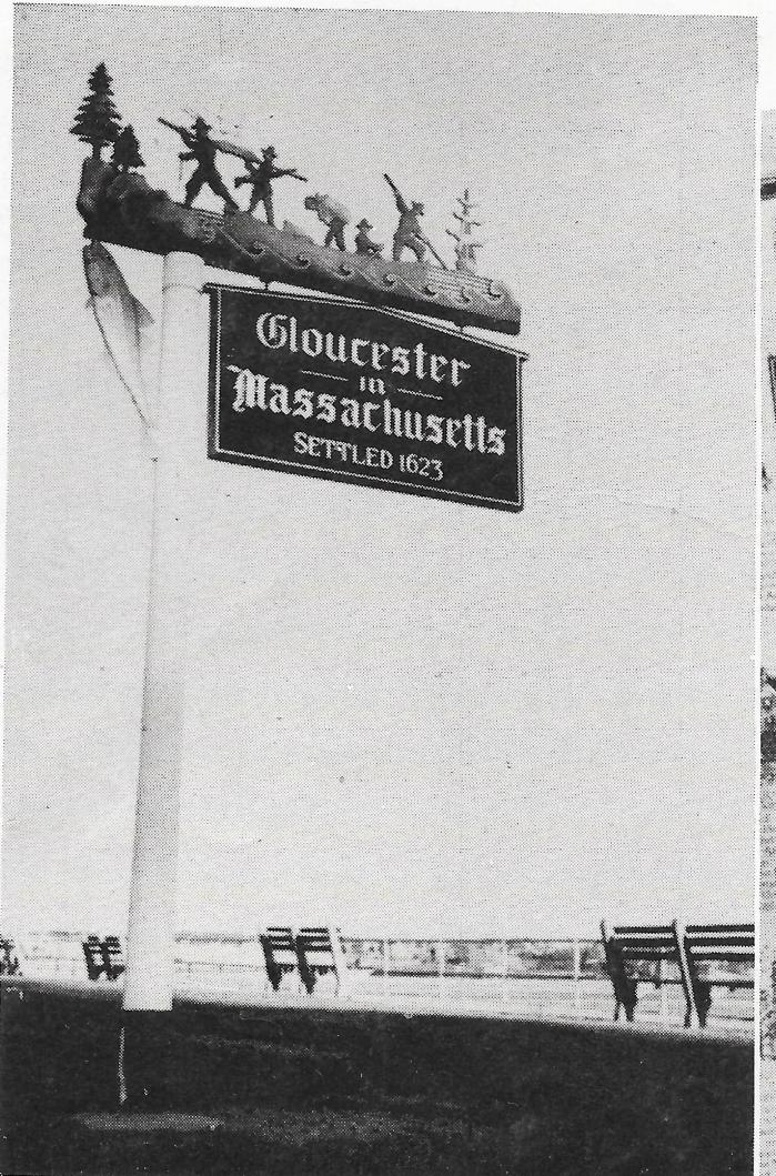 Gloucester sign yearbook