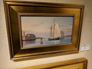 Ray Crane, The Inner Harbor Gloucester, group show, Rockport Art Association