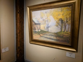 Jonathan Hotz Country Lane, solo exhibition at the Rockport Art Assoc