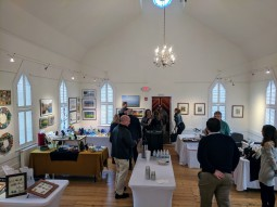 Installation 2017 Rocky Neck holiday exhibition and MCC cultural visit