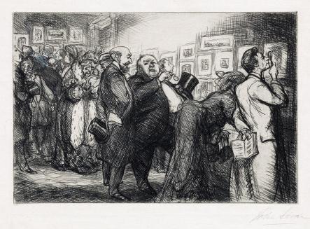 John Sloan Conoisseurs of Prints 1912 ed 80 proposed ed 100 $1875